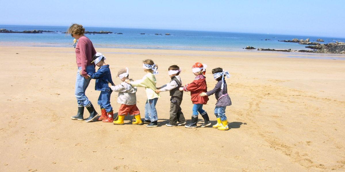 Découverte sensorielle de la plage