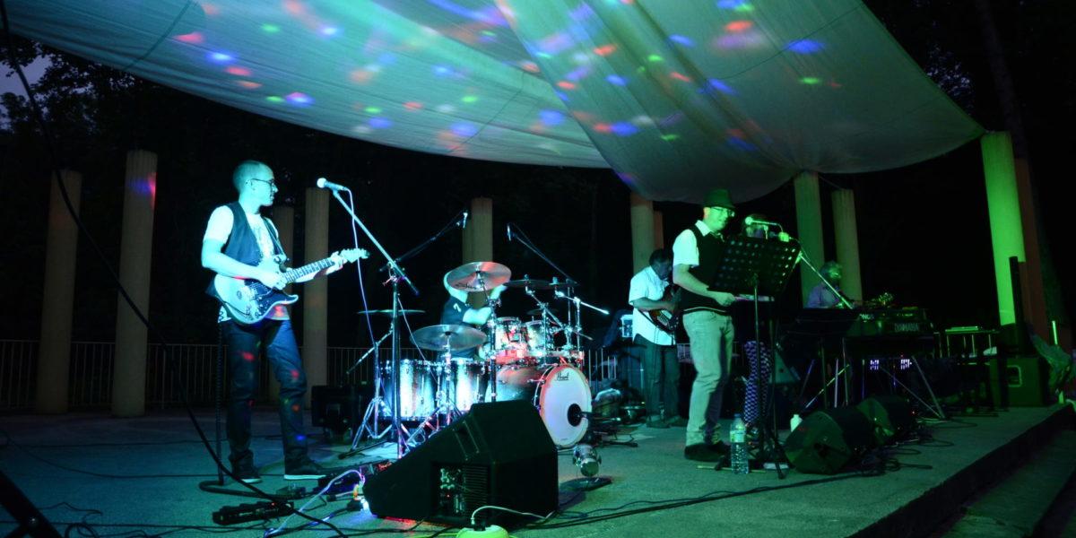 Concert à la nuit tombante
