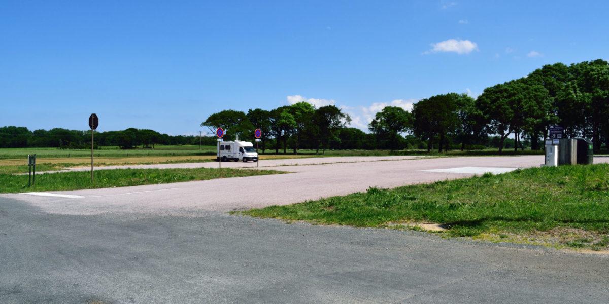 Création d'un stationnement à l'entrée du Bourg de Plévenon