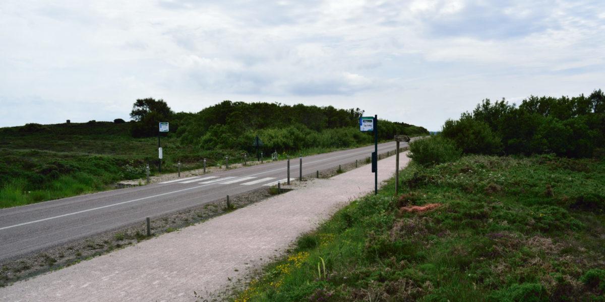 Création d'une vélo route voie vert entre les deux caps