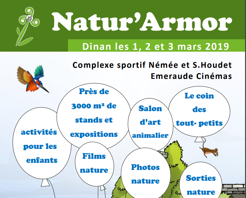 Un stand « Grand Site » au Festival Natur'Armor !