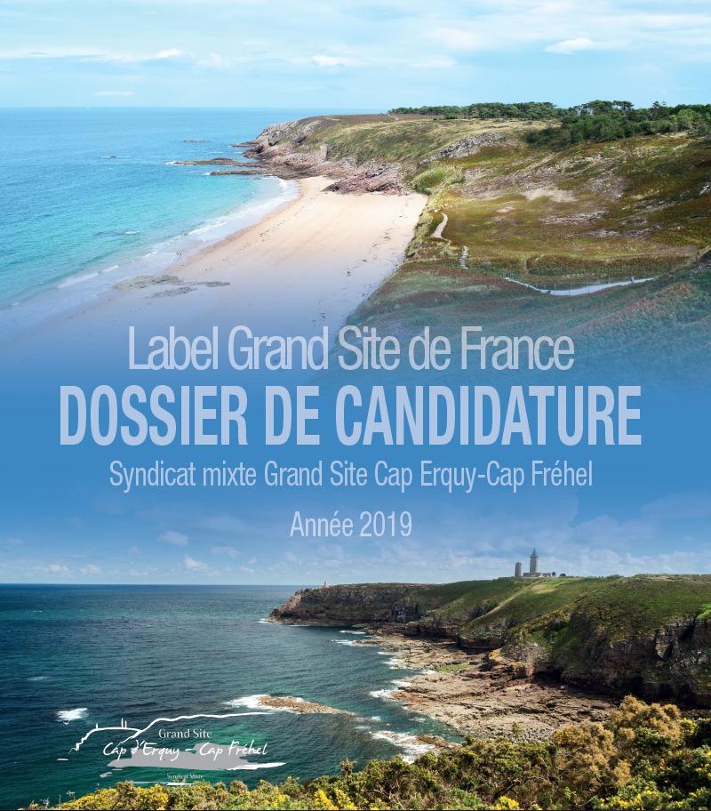 Le dossier de candidature au label Grand Site de France déposé en Préfecture, le 1er mars 2019