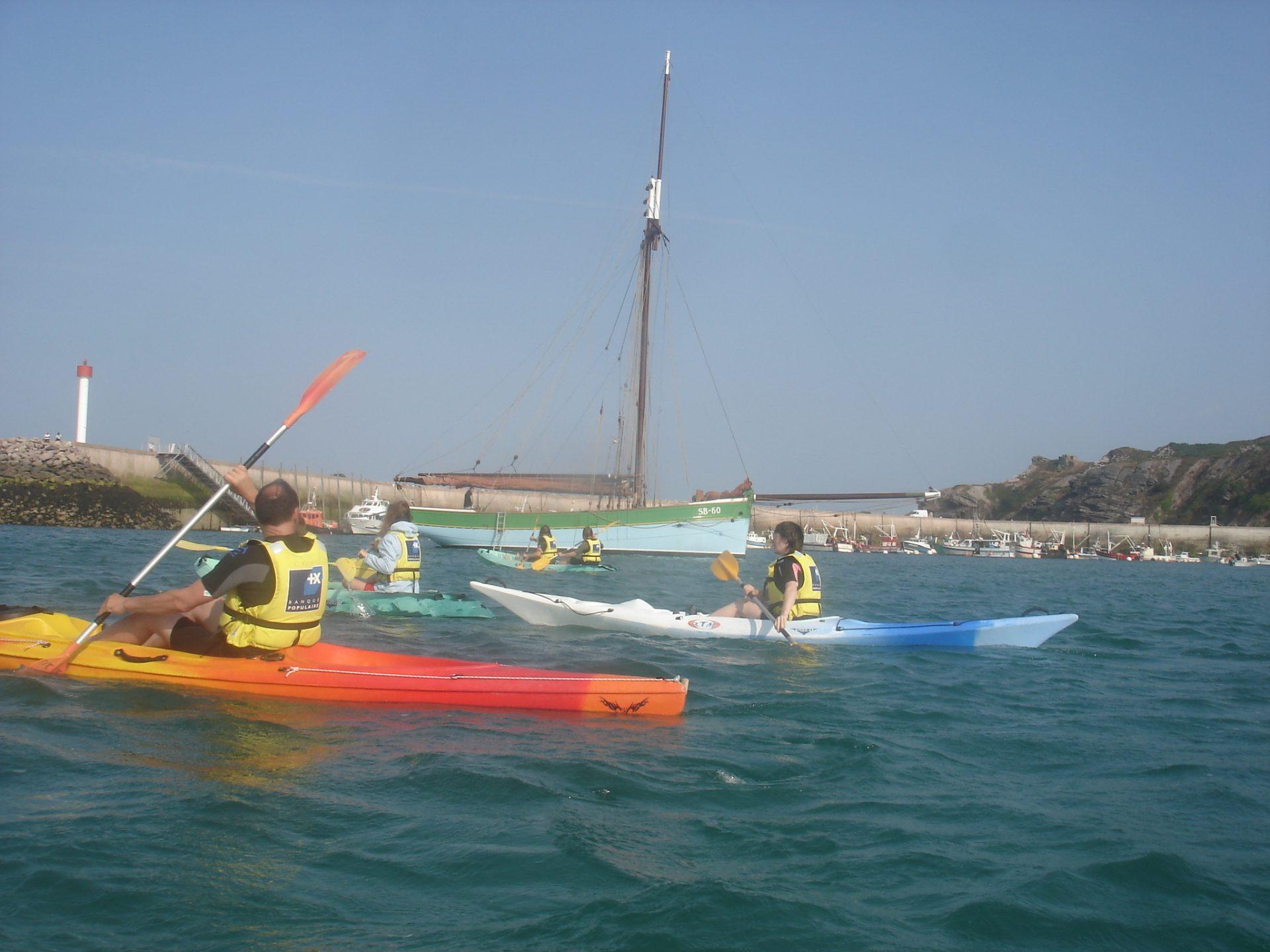 Une sortie kayak pour les Journées Européennes du Patrimoine